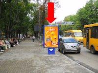 Ситилайт №154271 в городе Сумы (Сумская область), размещение наружной рекламы, IDMedia-аренда по самым низким ценам!
