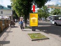 Ситилайт №154275 в городе Сумы (Сумская область), размещение наружной рекламы, IDMedia-аренда по самым низким ценам!