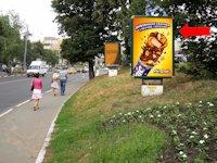 Ситилайт №154285 в городе Сумы (Сумская область), размещение наружной рекламы, IDMedia-аренда по самым низким ценам!