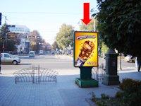 Ситилайт №154287 в городе Сумы (Сумская область), размещение наружной рекламы, IDMedia-аренда по самым низким ценам!