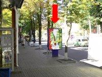 Ситилайт №154345 в городе Сумы (Сумская область), размещение наружной рекламы, IDMedia-аренда по самым низким ценам!