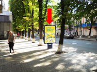 Ситилайт №154349 в городе Сумы (Сумская область), размещение наружной рекламы, IDMedia-аренда по самым низким ценам!