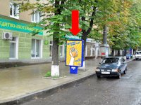 Ситилайт №154351 в городе Сумы (Сумская область), размещение наружной рекламы, IDMedia-аренда по самым низким ценам!