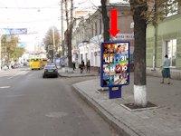 Ситилайт №154352 в городе Сумы (Сумская область), размещение наружной рекламы, IDMedia-аренда по самым низким ценам!