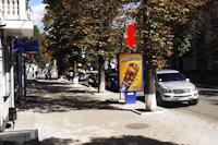 Ситилайт №154355 в городе Сумы (Сумская область), размещение наружной рекламы, IDMedia-аренда по самым низким ценам!