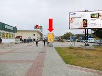 Ситилайт №154366 в городе Сумы (Сумская область), размещение наружной рекламы, IDMedia-аренда по самым низким ценам!