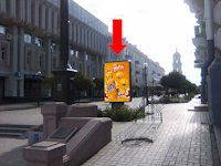 Ситилайт №154369 в городе Сумы (Сумская область), размещение наружной рекламы, IDMedia-аренда по самым низким ценам!