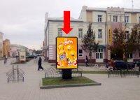 Ситилайт №154373 в городе Сумы (Сумская область), размещение наружной рекламы, IDMedia-аренда по самым низким ценам!