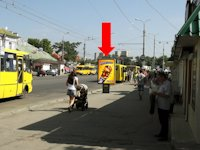 Ситилайт №154393 в городе Сумы (Сумская область), размещение наружной рекламы, IDMedia-аренда по самым низким ценам!