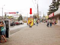 Ситилайт №154397 в городе Сумы (Сумская область), размещение наружной рекламы, IDMedia-аренда по самым низким ценам!