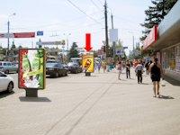 Ситилайт №154399 в городе Сумы (Сумская область), размещение наружной рекламы, IDMedia-аренда по самым низким ценам!
