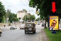 Ситилайт №154476 в городе Тернополь (Тернопольская область), размещение наружной рекламы, IDMedia-аренда по самым низким ценам!