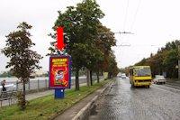 Ситилайт №154479 в городе Тернополь (Тернопольская область), размещение наружной рекламы, IDMedia-аренда по самым низким ценам!