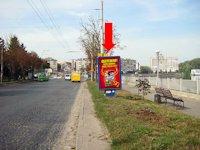 Ситилайт №154482 в городе Тернополь (Тернопольская область), размещение наружной рекламы, IDMedia-аренда по самым низким ценам!