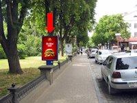 Ситилайт №154485 в городе Тернополь (Тернопольская область), размещение наружной рекламы, IDMedia-аренда по самым низким ценам!