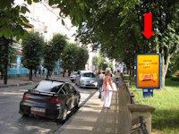 Ситилайт №154486 в городе Тернополь (Тернопольская область), размещение наружной рекламы, IDMedia-аренда по самым низким ценам!