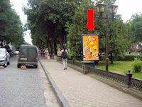 Ситилайт №154490 в городе Тернополь (Тернопольская область), размещение наружной рекламы, IDMedia-аренда по самым низким ценам!