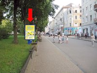 Ситилайт №154493 в городе Тернополь (Тернопольская область), размещение наружной рекламы, IDMedia-аренда по самым низким ценам!
