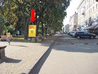 Ситилайт №154495 в городе Тернополь (Тернопольская область), размещение наружной рекламы, IDMedia-аренда по самым низким ценам!