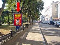 Ситилайт №154497 в городе Тернополь (Тернопольская область), размещение наружной рекламы, IDMedia-аренда по самым низким ценам!