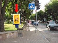 Ситилайт №154501 в городе Тернополь (Тернопольская область), размещение наружной рекламы, IDMedia-аренда по самым низким ценам!
