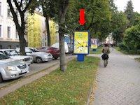 Ситилайт №154506 в городе Тернополь (Тернопольская область), размещение наружной рекламы, IDMedia-аренда по самым низким ценам!