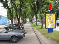 Ситилайт №154507 в городе Тернополь (Тернопольская область), размещение наружной рекламы, IDMedia-аренда по самым низким ценам!