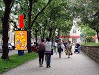 Ситилайт №154509 в городе Тернополь (Тернопольская область), размещение наружной рекламы, IDMedia-аренда по самым низким ценам!
