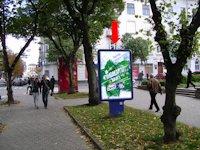 Ситилайт №154511 в городе Тернополь (Тернопольская область), размещение наружной рекламы, IDMedia-аренда по самым низким ценам!