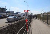 Ситилайт №155022 в городе Тернополь (Тернопольская область), размещение наружной рекламы, IDMedia-аренда по самым низким ценам!
