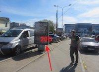 Ситилайт №155029 в городе Тернополь (Тернопольская область), размещение наружной рекламы, IDMedia-аренда по самым низким ценам!
