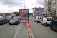 Ситилайт №155037 в городе Тернополь (Тернопольская область), размещение наружной рекламы, IDMedia-аренда по самым низким ценам!