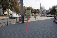 Ситилайт №155040 в городе Тернополь (Тернопольская область), размещение наружной рекламы, IDMedia-аренда по самым низким ценам!