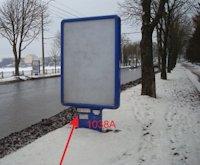 Ситилайт №155045 в городе Тернополь (Тернопольская область), размещение наружной рекламы, IDMedia-аренда по самым низким ценам!