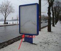 Ситилайт №155051 в городе Тернополь (Тернопольская область), размещение наружной рекламы, IDMedia-аренда по самым низким ценам!