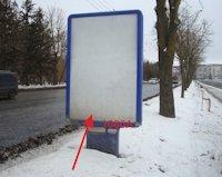 Ситилайт №155063 в городе Тернополь (Тернопольская область), размещение наружной рекламы, IDMedia-аренда по самым низким ценам!