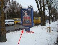 Ситилайт №155071 в городе Тернополь (Тернопольская область), размещение наружной рекламы, IDMedia-аренда по самым низким ценам!