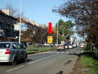 Ситилайт №156383 в городе Ужгород (Закарпатская область), размещение наружной рекламы, IDMedia-аренда по самым низким ценам!
