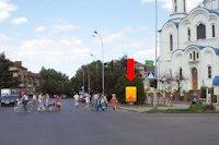 Ситилайт №156386 в городе Ужгород (Закарпатская область), размещение наружной рекламы, IDMedia-аренда по самым низким ценам!