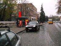 Ситилайт №156389 в городе Ужгород (Закарпатская область), размещение наружной рекламы, IDMedia-аренда по самым низким ценам!