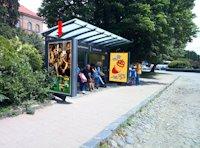 Ситилайт №156393 в городе Ужгород (Закарпатская область), размещение наружной рекламы, IDMedia-аренда по самым низким ценам!