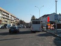 Ситилайт №156395 в городе Ужгород (Закарпатская область), размещение наружной рекламы, IDMedia-аренда по самым низким ценам!