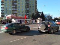 Ситилайт №156398 в городе Ужгород (Закарпатская область), размещение наружной рекламы, IDMedia-аренда по самым низким ценам!