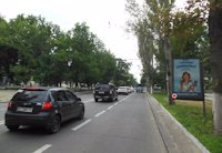 Ситилайт №158524 в городе Херсон (Херсонская область), размещение наружной рекламы, IDMedia-аренда по самым низким ценам!