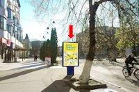 Ситилайт №158796 в городе Хмельницкий (Хмельницкая область), размещение наружной рекламы, IDMedia-аренда по самым низким ценам!