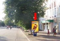 Ситилайт №158797 в городе Хмельницкий (Хмельницкая область), размещение наружной рекламы, IDMedia-аренда по самым низким ценам!