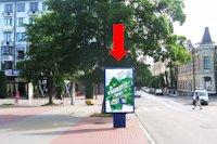 Ситилайт №158798 в городе Хмельницкий (Хмельницкая область), размещение наружной рекламы, IDMedia-аренда по самым низким ценам!