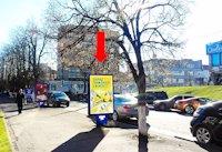 Ситилайт №158800 в городе Хмельницкий (Хмельницкая область), размещение наружной рекламы, IDMedia-аренда по самым низким ценам!