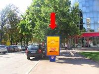 Ситилайт №158801 в городе Хмельницкий (Хмельницкая область), размещение наружной рекламы, IDMedia-аренда по самым низким ценам!
