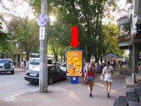 Ситилайт №158803 в городе Хмельницкий (Хмельницкая область), размещение наружной рекламы, IDMedia-аренда по самым низким ценам!
